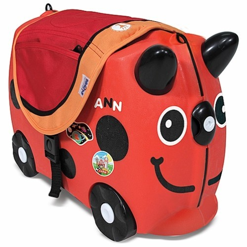 Ruby red trunki ride on suitcase educational toys planet for Motorized ride on suitcase