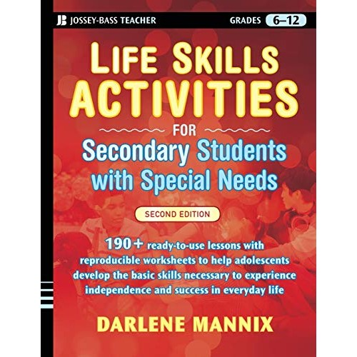 Life Skills Activities for Secondary Students with Special Needs 2 edition
