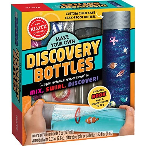 Klutz Make Your Own Discovery Bottles Activity & Science Kit