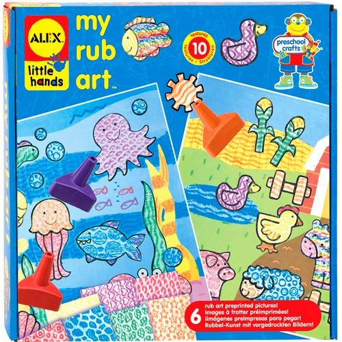 My Rub Art – Arts & Crafts Kit for Children