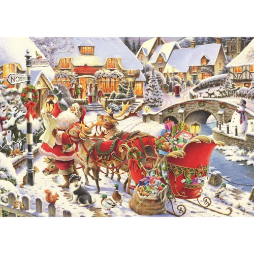 Christmas 1000 pc Puzzle – Santa Needs Directions