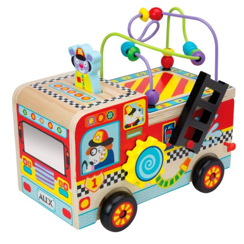 Busy Fire Truck Baby Activity Toy Educational Toys Planet