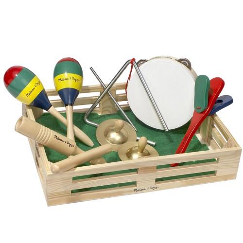 Melissa /& Doug Band in a Box Bébé//Bambin//Enfant Musical Instruments BN