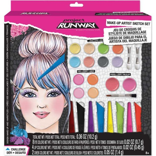 Project Runway Make Up Artist Sketch Set Educational Toys Planet