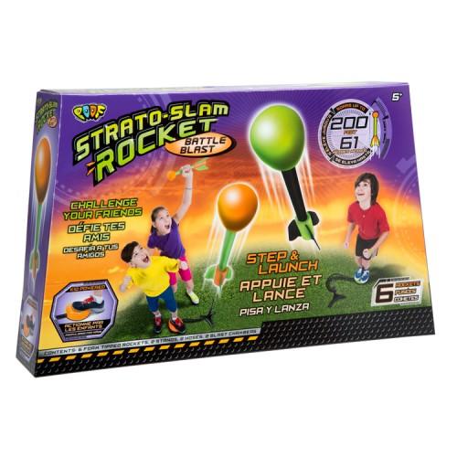 Strato Slam Rocket Battle Blast Step & Launch Set