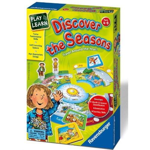 Discover the Seasons Preschool Game