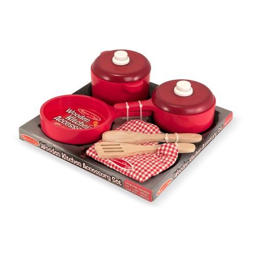 Kids Pots & Pans 8 pc Kitchen Play Set