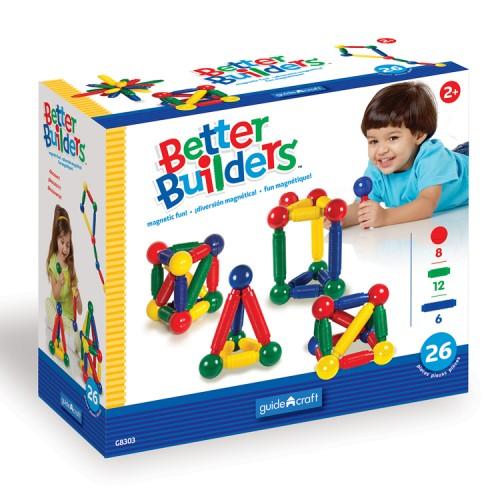 Better Builders 26 pc Magnetic Construction Set