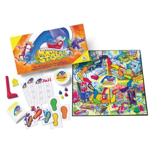 Monster Stomp Kids Board Game