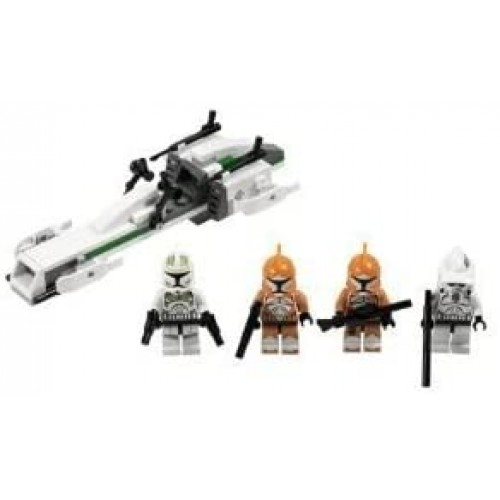 4Kids Toy Game Colorful Lego Star Wars Clone Trooper Battle Pack 7913 With New Commander