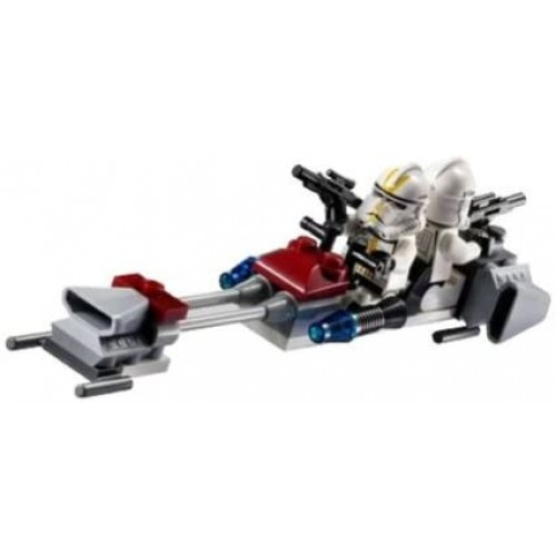 Lego Star Wars Clone Trooper Battle Pack 7655 By