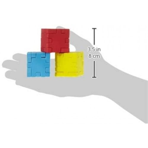 Happy Cube Set Of 6 Foam Puzzle Cubes Ages 5 To