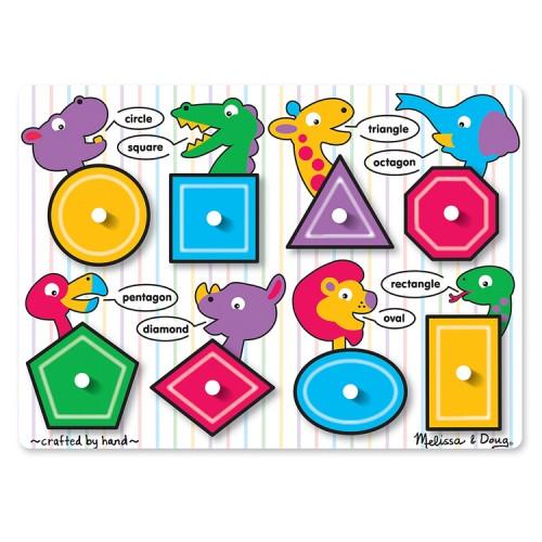 Shapes Peg Wooden Puzzle