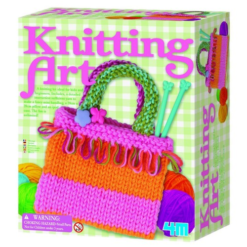 Knitting Art Kids Craft Kit