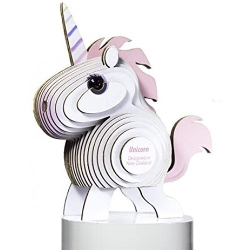 Dodoland Eugy Unicorn 3D Puzzle Educational Kid Toys 28 Piece Great For Gifts Home And