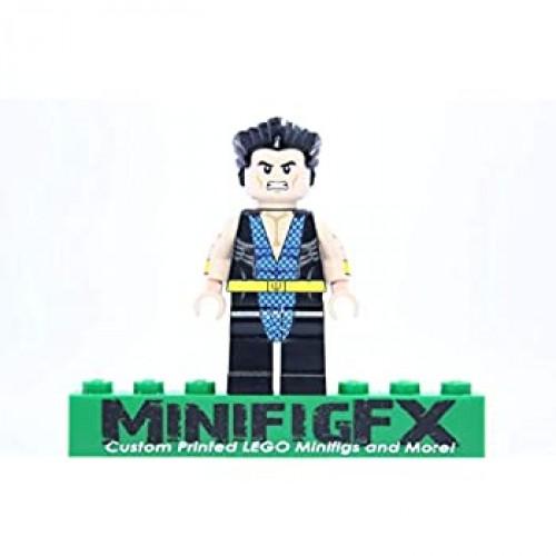 Lego Custom Namor The Submariner Minifig Marvel Comics Super Hero Avengers