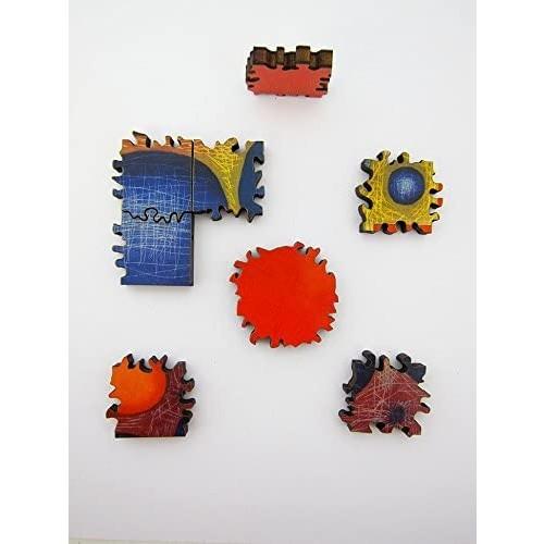 Artifact Puzzles Karen Kunc Verse From Macrocosmica Wooden Jigsaw