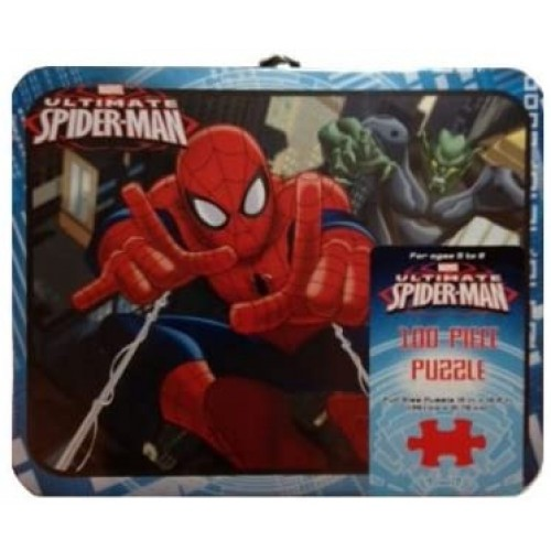 Marvel Ultimate Spiderman 100Piece Puzzle In Tin