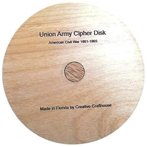 Union Army Cipher Disk Us Civil War Flag Or Telegraph
