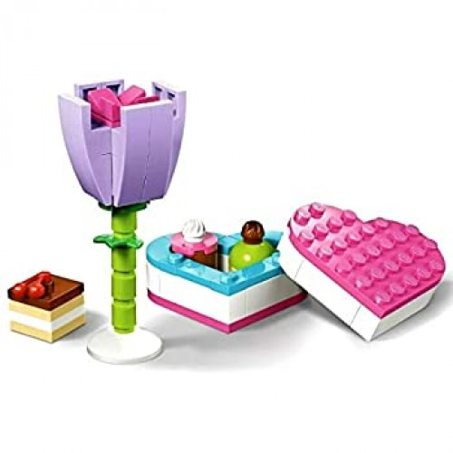 Lego Friends Flower And Chocolate Box Build 30411 75