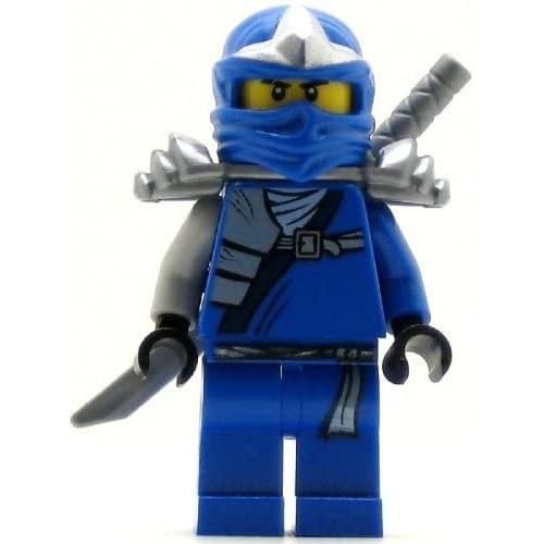 Lego Ninjago Jay Zx Minifigure With Armor And Katana