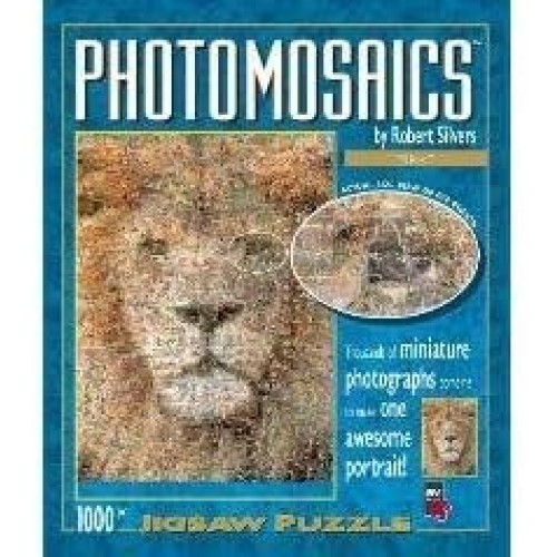 Lion Photomosiac Puzzle By American