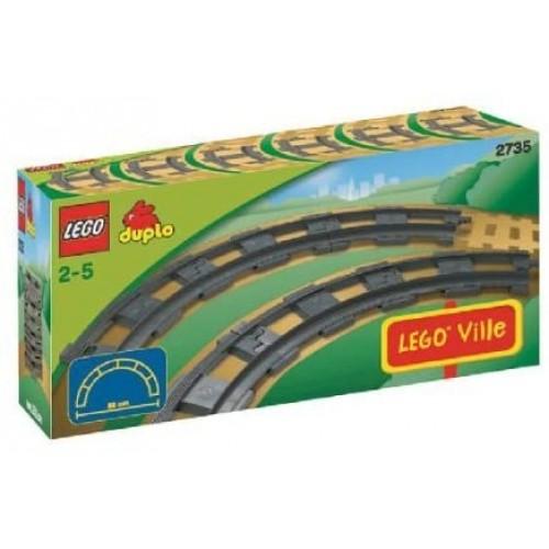Lego Duplo Legoville Curved Rails