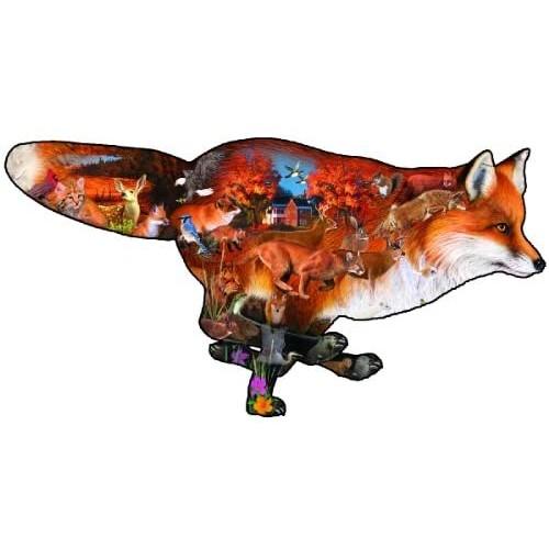 Sly Fox Jigsaw Puzzle