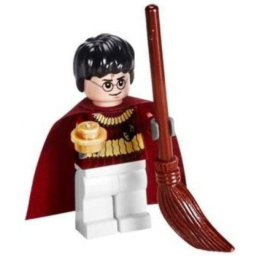 Lego Harry Potter Quidditch Gear With Golden Snitch