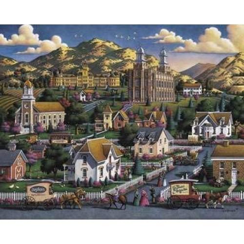 Dowdle Jigsaw Puzzle Logan Summer 500