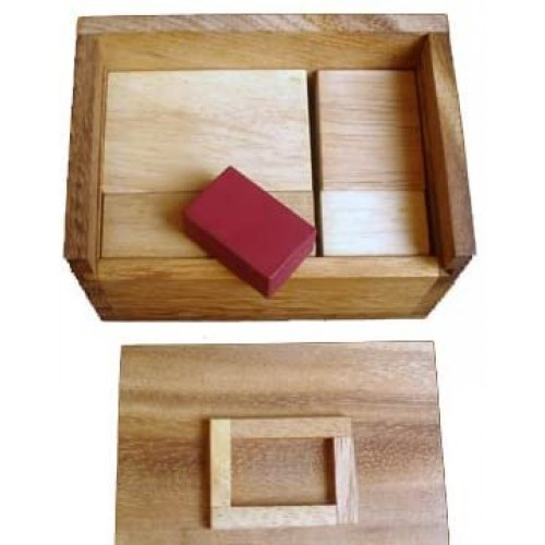 Creative Crafthouse Redstone Box Hide The Red Stone Wood Puzzle And Brain
