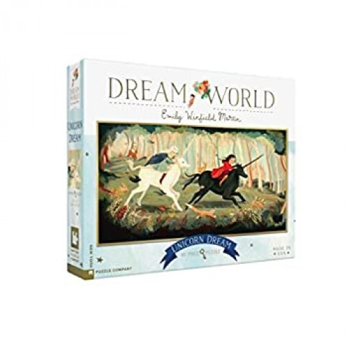 New York Puzzle Company Dream World Unicorn 80 Piece Jigsaw