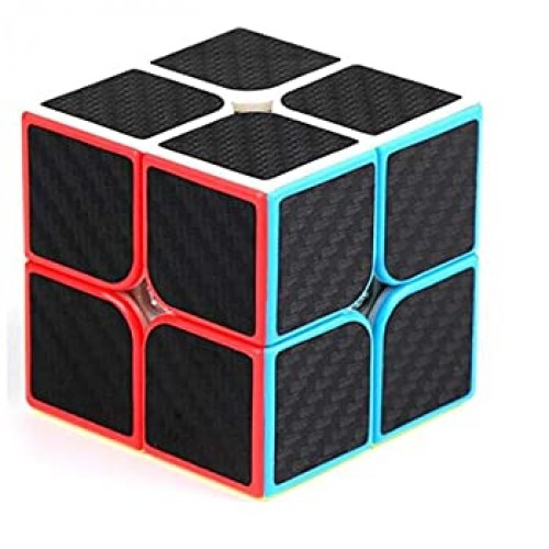 Cuberspeed Mfjs Meilong Carbon Fiber Cubic Gift Box Bundle Phantom Sticker Speed Cube