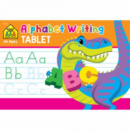 Alphabet Writing Tablet Activity Pad