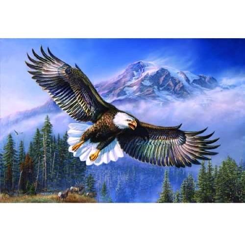 Sunsout Inc Eagle Anthem 1000 Pc Jigsaw