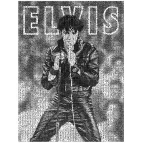 Buffalo Games Photomosaic Elvis 68 Special 1026 Piece Jigsaw