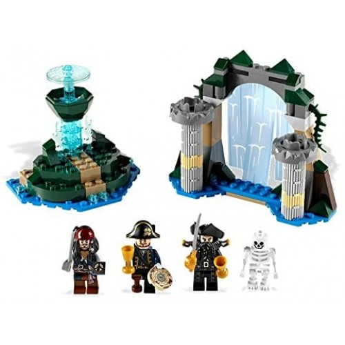 Lego Pirates Of The Caribbean Fountain Youth