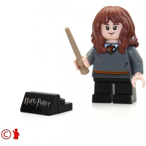 Lego 2018 Harry Potter Minifigure Hermione Gryffindor Sweater With Wand