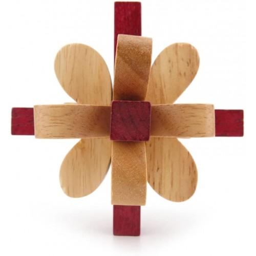 1x Wisdom Logic Mind Intelligence Scientific Brain Teaser Puzzle Toys Disentanglement Game Wy0104