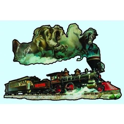 Sunsout Inc Horse Of Iron 1000 Pc Jigsaw Puzzle Train Theme