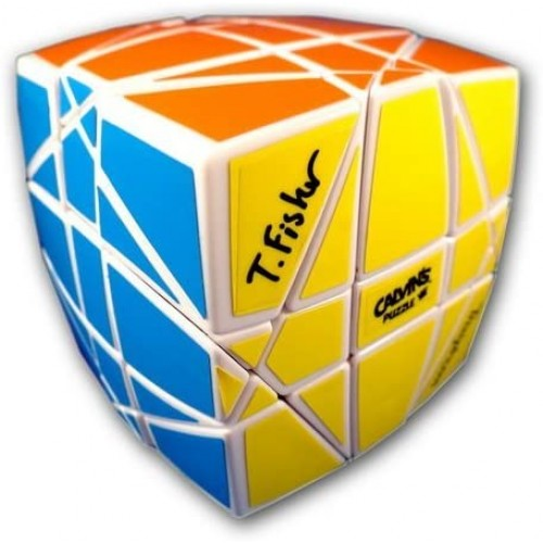 Hexaminx White Calvins Puzzle Pillowed Cube Megaminx Mod Twisty