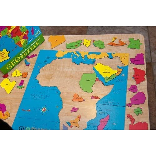 Geotoys Geo Puzzle Africa Middle East Geo00103 By