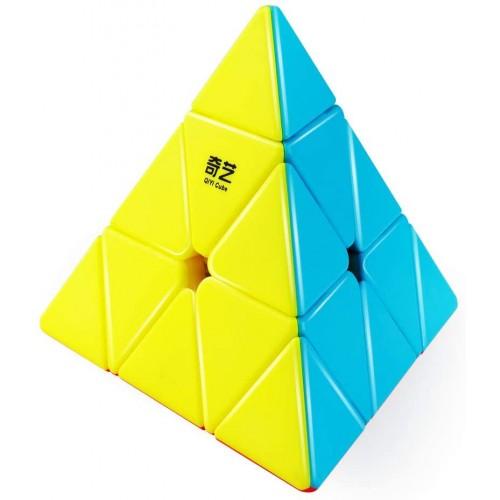 Dfantix Qiyi Qiming Pyramid Stickerless Speed Cube Triangle