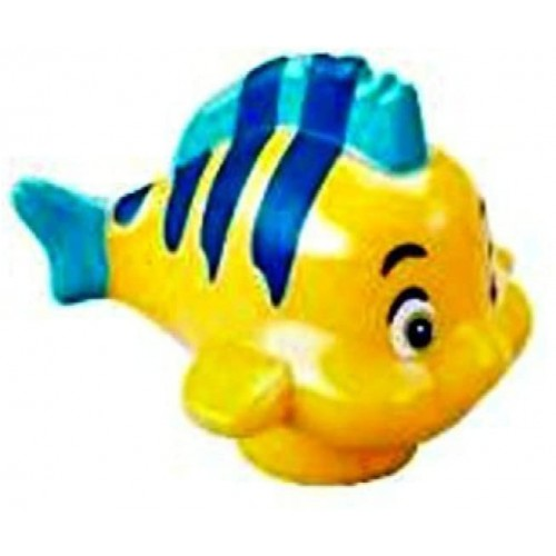 Lego Disney Flounder Fish Minifig Minifigure Loose From Little
