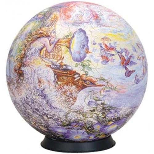 Esphera 360 9 540 Pieces Sphere Art Walls Queen Of The Night By Mega