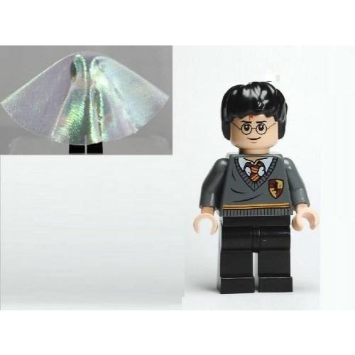 Lego Minifigure Harry Potter With Cloak Of