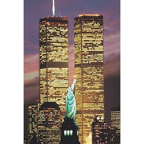 Tomax World Trade Centre Usa 1000 Piece Glowinthedark Jigsaw