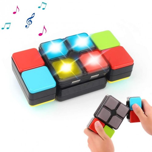 Seckton Toys For 512 Magic Cube Electronic Music Kids Puzzle Game Novelty