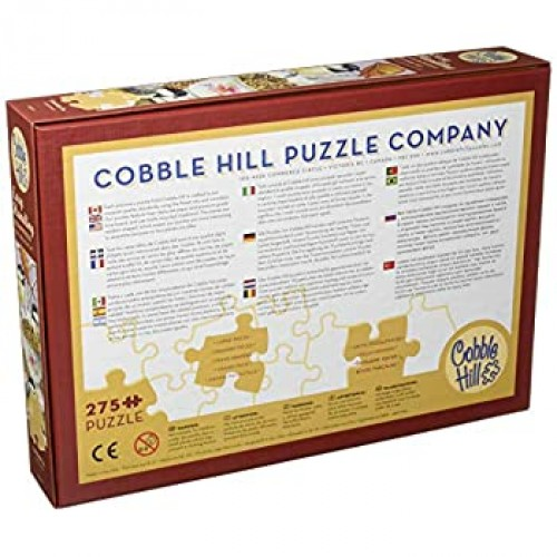 Chickadee Tea Puzzle