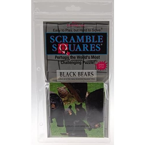 Scramble Squares Puzzle Black